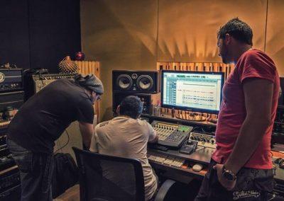 Rapirela recording session
