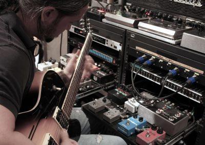 Rafael Pirela aka Rapirela Guitar Recording Session